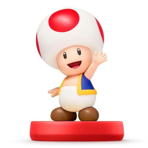 Figura Amiibo Toad (Serie Super Mario)