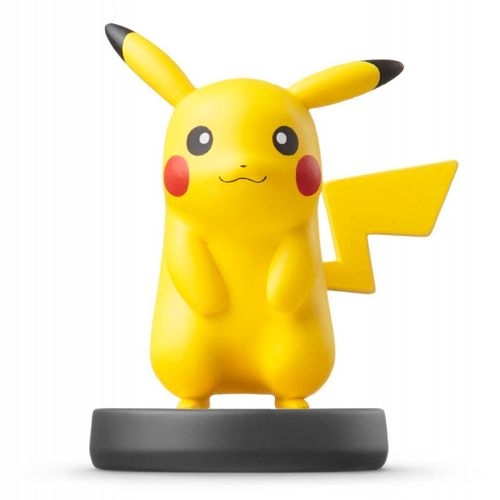 Figura Amiibo Pikachu (Serie Ssb)