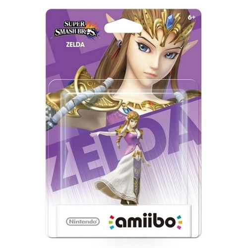 Figura Amiibo Zelda (Serie Ssb)