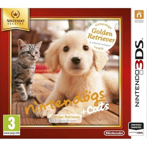 Nintendogs + Gatos: Golden Retiever - Selects - 3DS