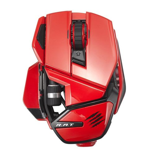 Mad Catz Office R.A.T. Raton Wireless Mobile Rojo