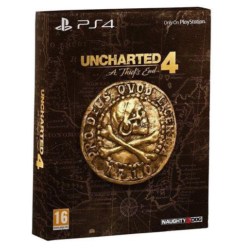 Uncharted 4: El Desenlace Del Ladrón Edición Especial PS4