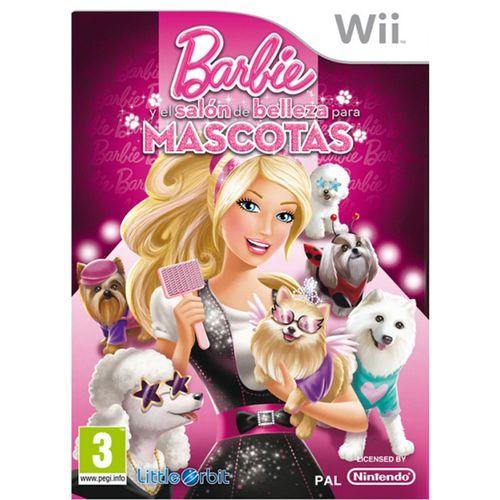 Barbie Salón De Belleza Para Mascotas WII