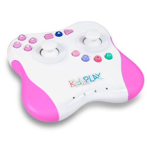 Mando Infantil Wireles Oficial SONY Rosa PS3