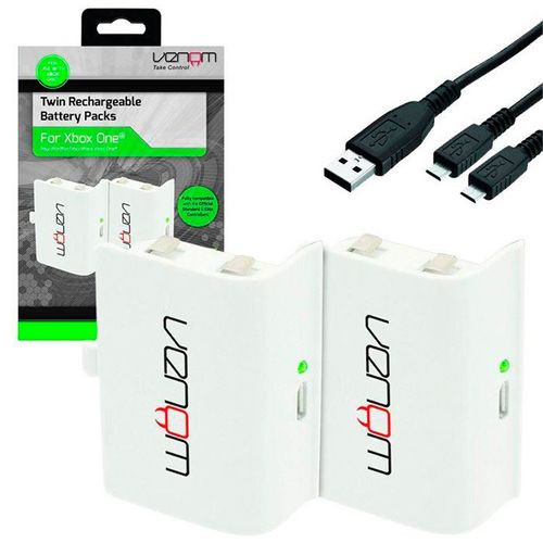 Rechargable Battery Packs Blanco