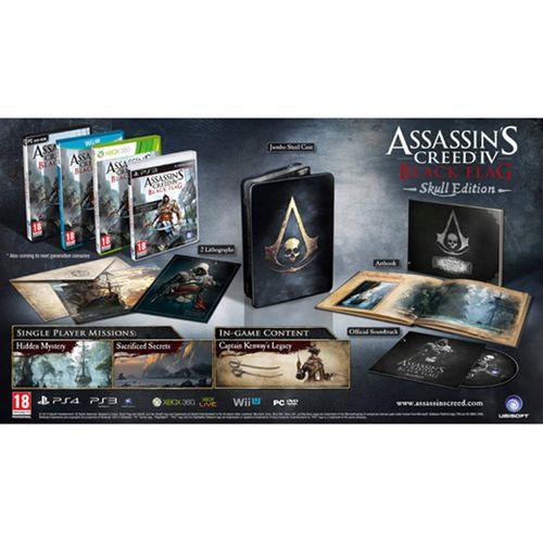 Assassins Creed 4: Black Flag Skull Edition XBOX 360