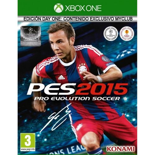 Pro Evolution Soccer 2015 Day One Edition XBOX ONE