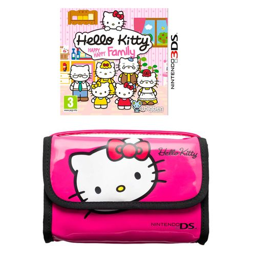 Hello Kitty: Happy Happy Family 3DS