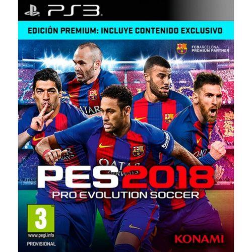 Pro Evolution Soccer 2018 Edición Premium PS3