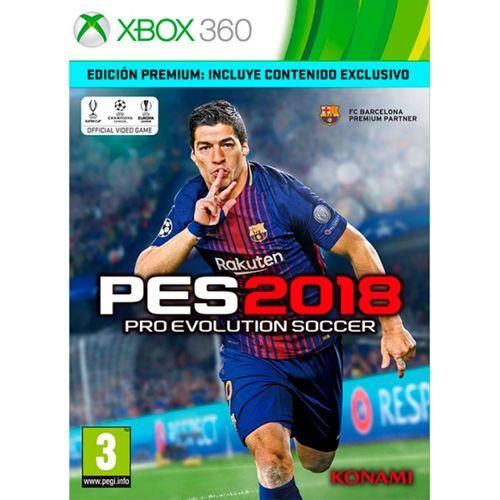 Pro Evolution Soccer 2018 Edición Premium XBOX 360