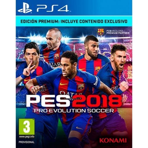 Pro Evolution Soccer 2018 Edición Premium PS4