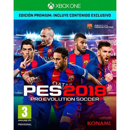 Pro Evolution Soccer 2018 Edición Premium XBOX ONE