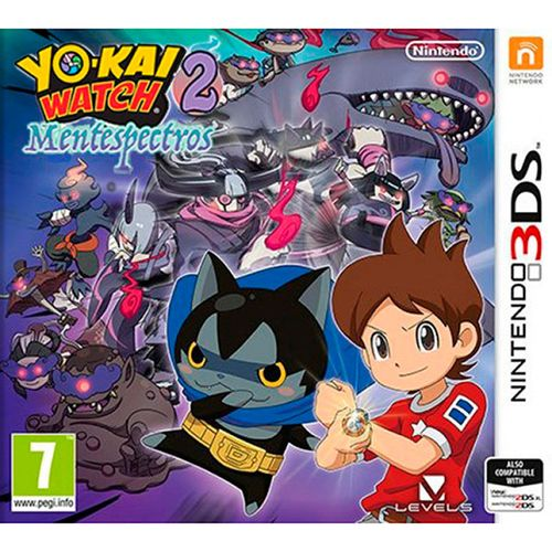 Yo-Kai Watch 2: Mentespectros 3DS
