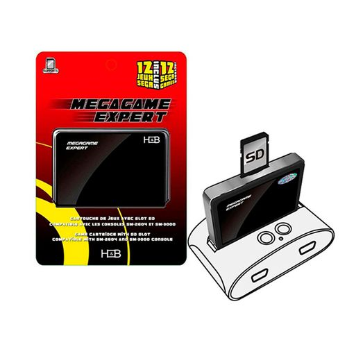 Mega Expert Passport (Sega Passport Sd Game Cartridge)