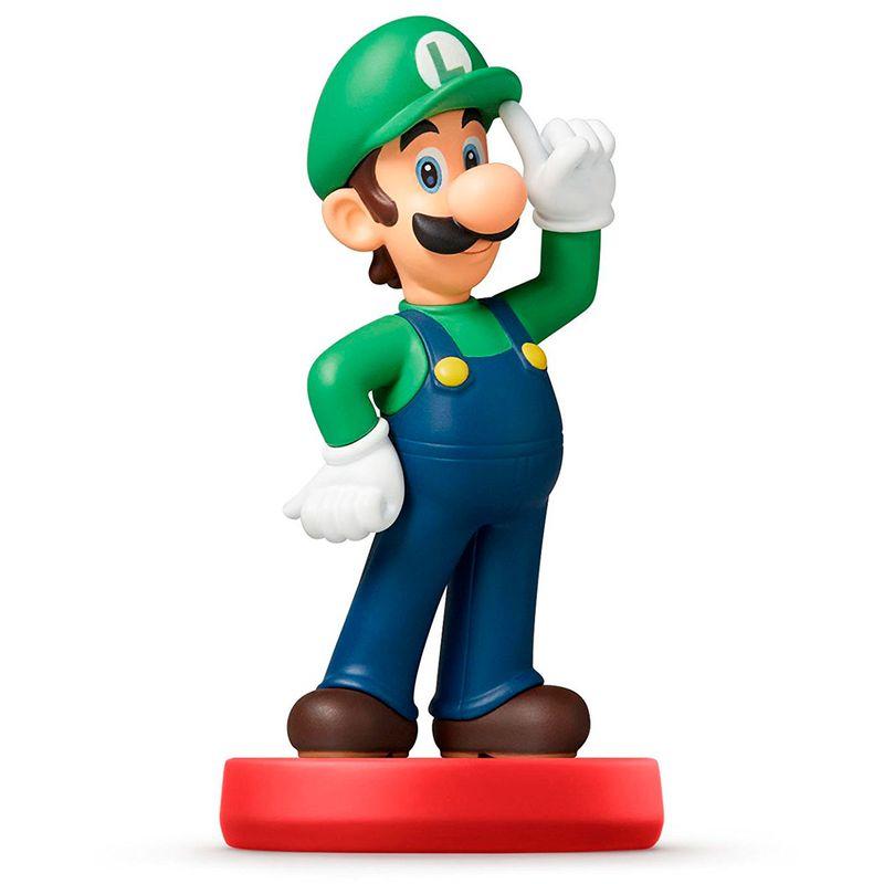 Figura-Amiibo-Luigi--Serie-Super-Mario-