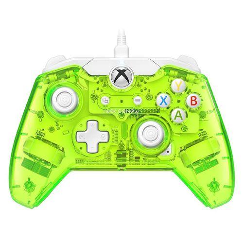 Mando Con Cable Rock Candy Licencia Oficial Xbox One Verde