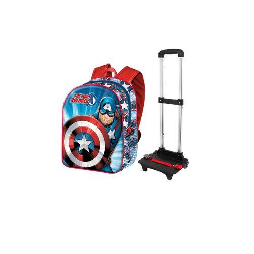 Mochila Capitán América infantil