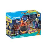 Playmobil-Scooby-doo-Caldero-de-la-Bruja-Zeb