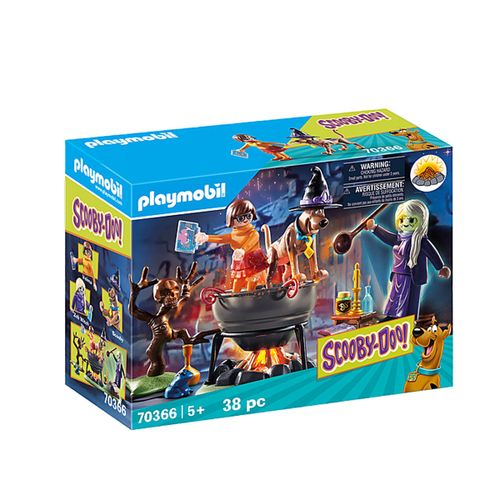 Playmobil Scooby doo Caldero de la Bruja Zeb