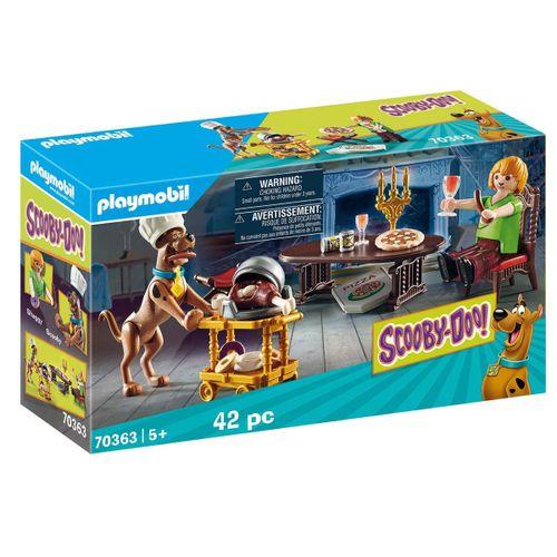 Playmobil Scooby Doo Cena con Shaggy