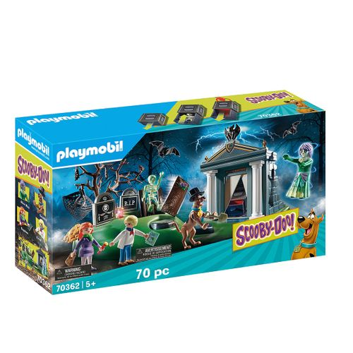 Playmoobil Sccoby doo aventura Cementerio