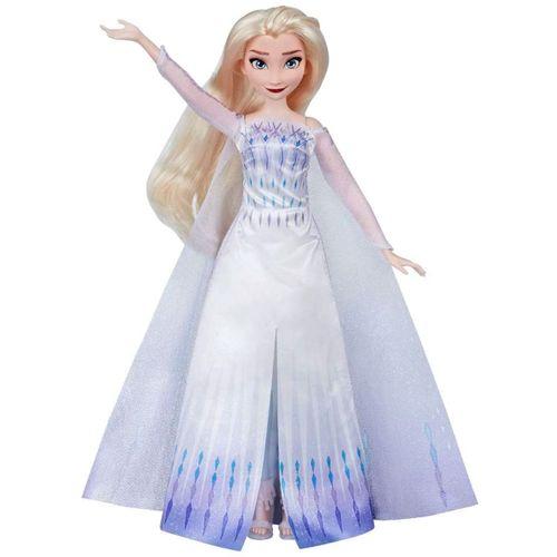 Frozen 2 Muñeca Elsa Cantarina