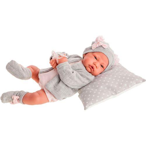 Muñeca Bebé Recién Nacida Gris