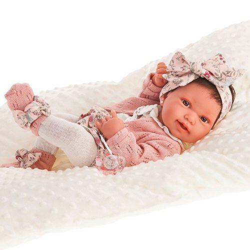 Muñeca Bebé Recién Nacida Pipa