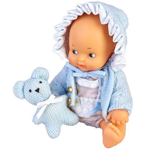 Barriguitas Pack Bebé con Ropa Azul
