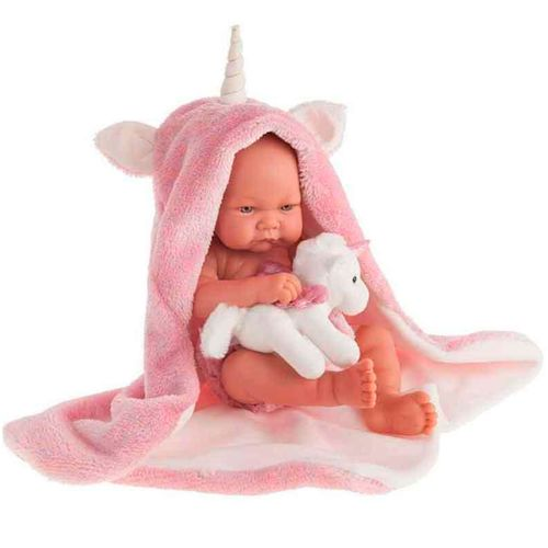 Muñeca Bebé Recién Nacida Nica Unicornio