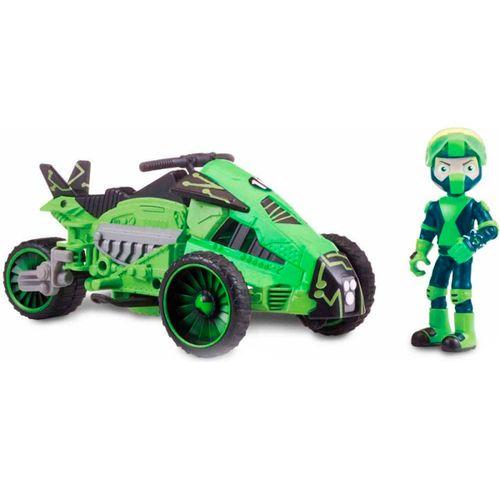 Ben 10 Vehículo Omnitrix con Figura