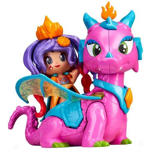 Pinypon Queens Reina y Dragón Volador
