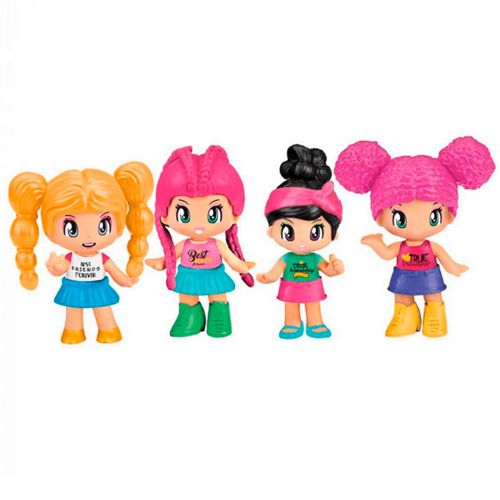 Pinypon New Look BFF Pack 2 Figuras Surtido