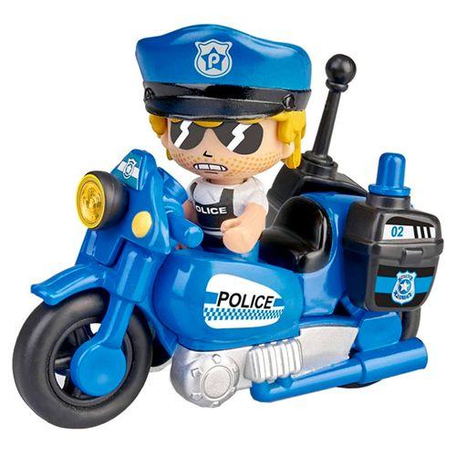 Pinypon Action Moto Policía