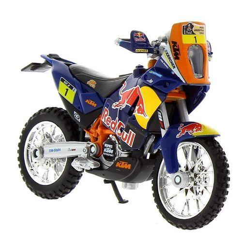 Moto Miniatura Red Bull KTM Factory Escala 1:18