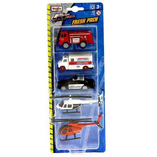 Vehículos Fresh Pack Emergencias Escala 1:72