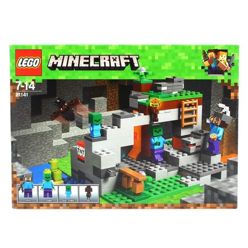 Lego Minecraft La Cueva de los Zombies