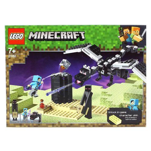 Lego Minecraft Batalla en el End