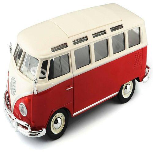 Coche Miniatura Volkswagen Van Samba 1:24