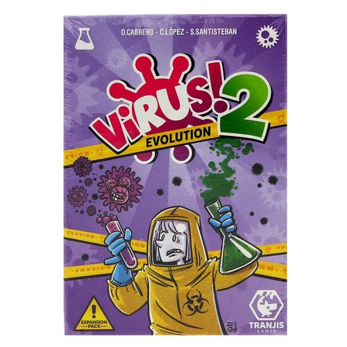 Virus 2 Evolution Juego Cartas Expansión