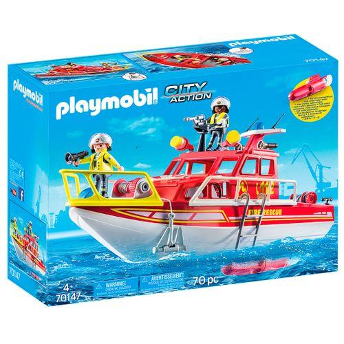 Playmobil City Action Barco de Rescate
