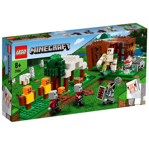 Lego Minecraft El Puesto de Saqueadores