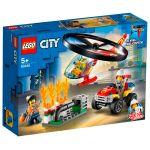 Lego-City-Intervencion-del-Helicoptero-de-Bomberos