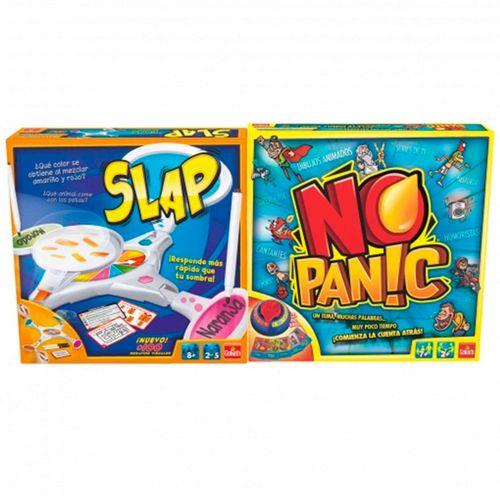 Pack Juegos Slap + No Panic