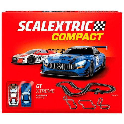Scalextric Compact Circuito GT Extreme 1:43