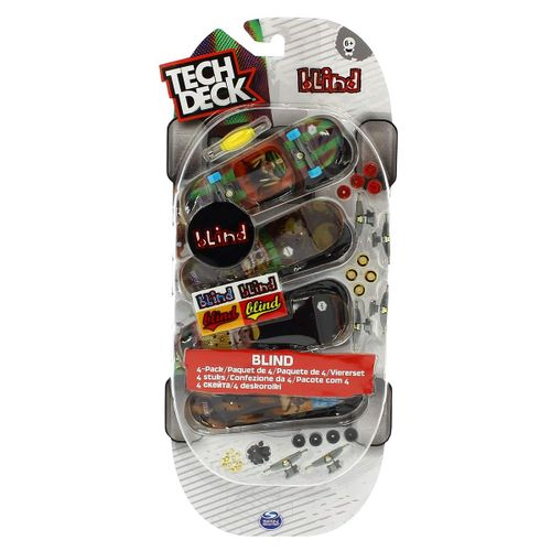 Tech Deck Mini Monopatín Pack Surtido
