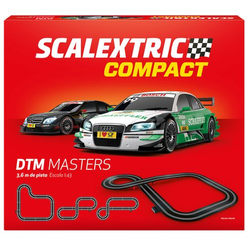 Scalextric Compact Circuito DTM Masters 1:43