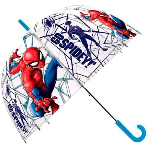 Spiderman Paraguas Transparente Automático