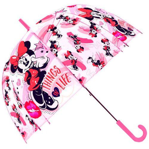 Minnie Mouse Paraguas Automático Transparente