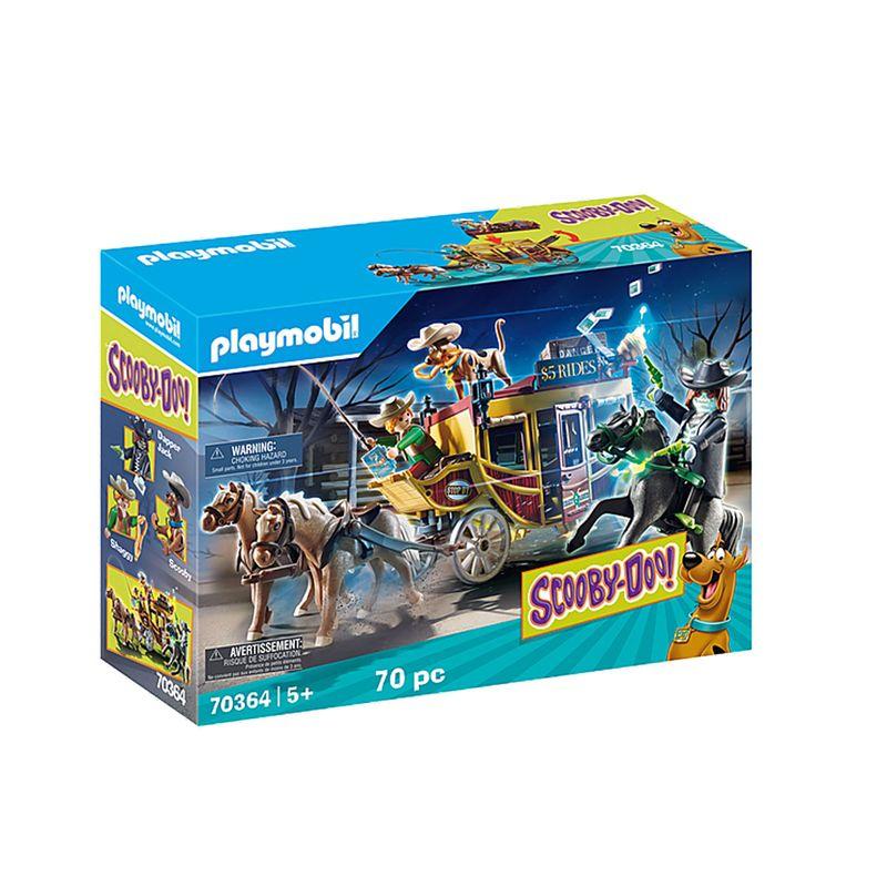 Playmobil-Scooby-doo-Salvaje-Oeste